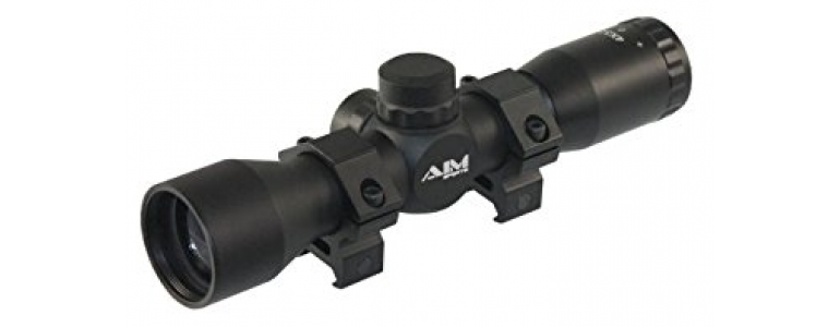Things That Make You Love And Hate: AIM Sports 4×32 Compact Riflescope Review