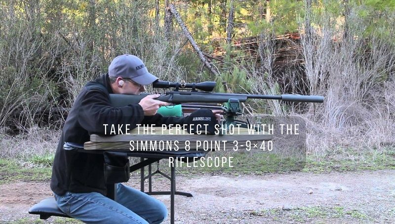 simmons 8 point. take the perfect shot with simmons 8 point 3-9×40 riflescope